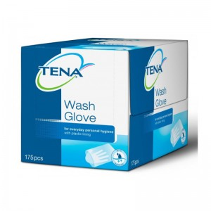 Tena Wash gloves plastifiés