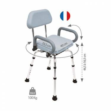 Chaise de douche rotative Swing - Image n°2