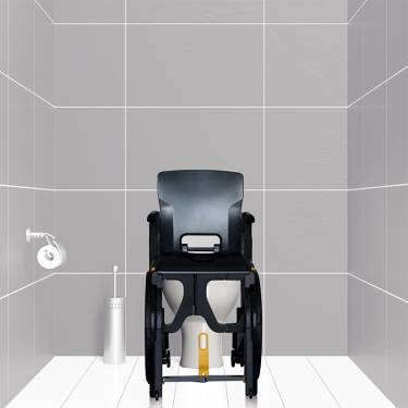 Chaise de douche/WC Wheelable - Image n°2