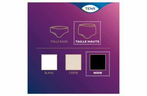 TENA Silhouette Plus Noir Medium - Image n°3