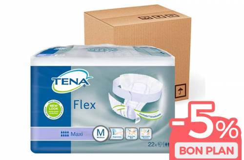 TENA Flex Medium Maxi - Pack éco - Image n°1