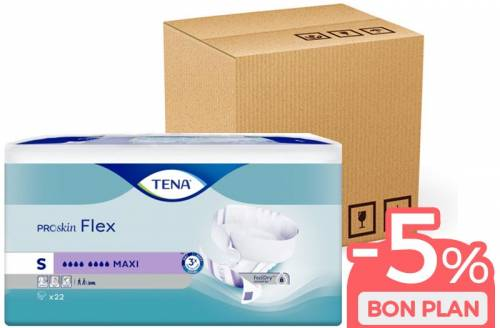 TENA Flex ProSkin Small Maxi - Pack éco - Image n°1