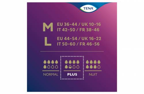 TENA Silhouette Plus Noir Medium - Image n°4